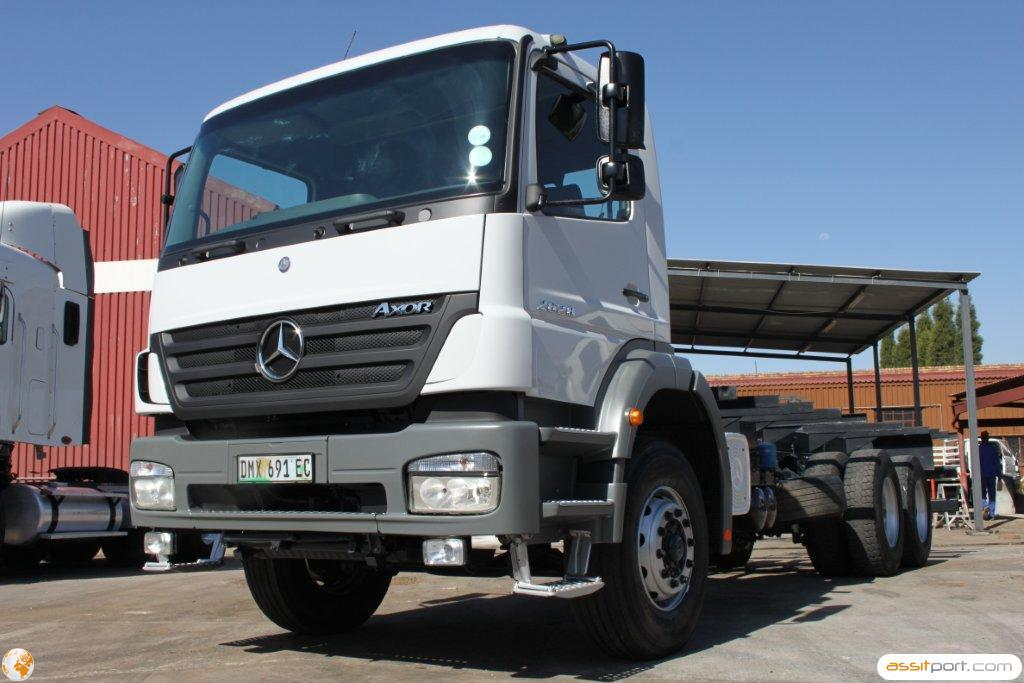 Atn prestige used used 2006 mercedes benz 2628 45 axor for Used mercedes benz truck
