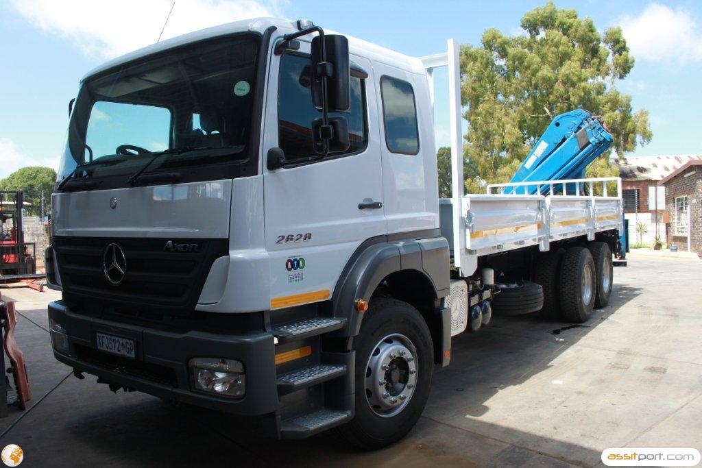 Atn prestige used used 2008 mercedes benz 2628 45 mc v8 for 2008 mercedes benz truck