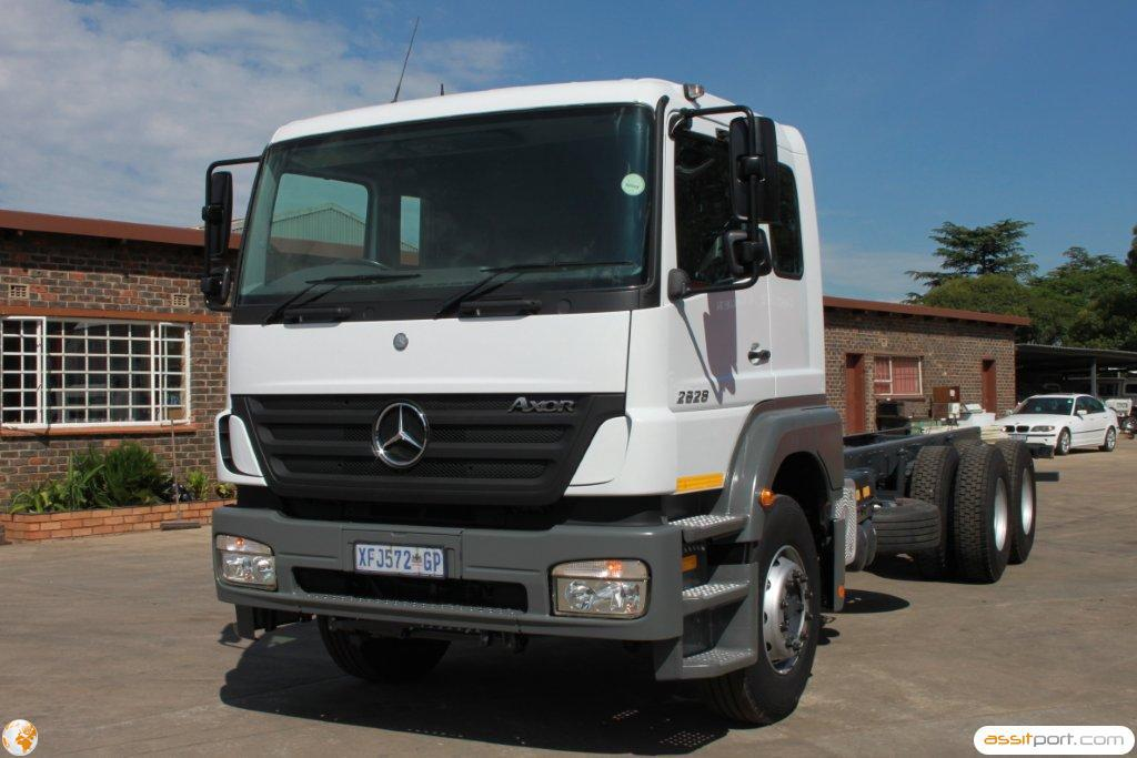 Atn prestige used used 2008 mercedes benz 2628 45 mc v8 for Mercedes benz commercial trucks