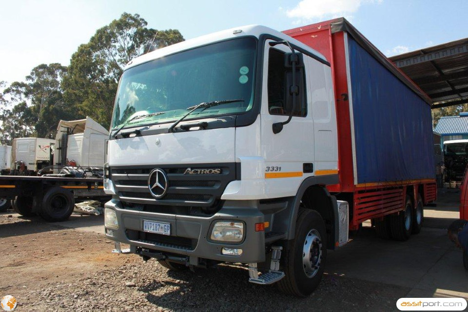 Atn prestige used used 2008 mercedes benz 3331 45 for 2008 mercedes benz truck