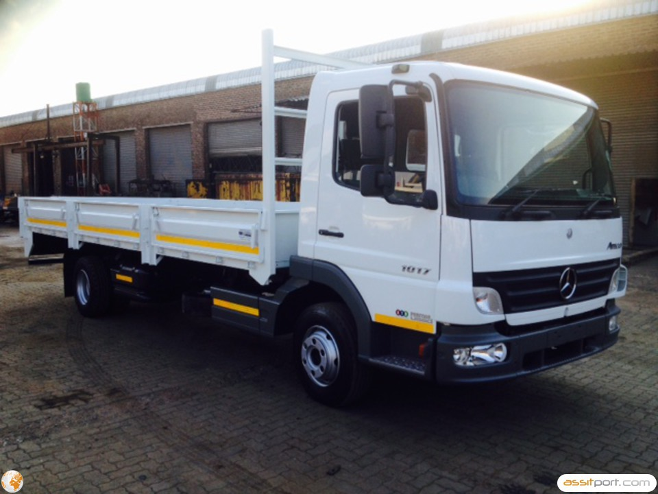 Atn prestige used used 2008 mercedes benz atego 1017 48 for 2008 mercedes benz truck