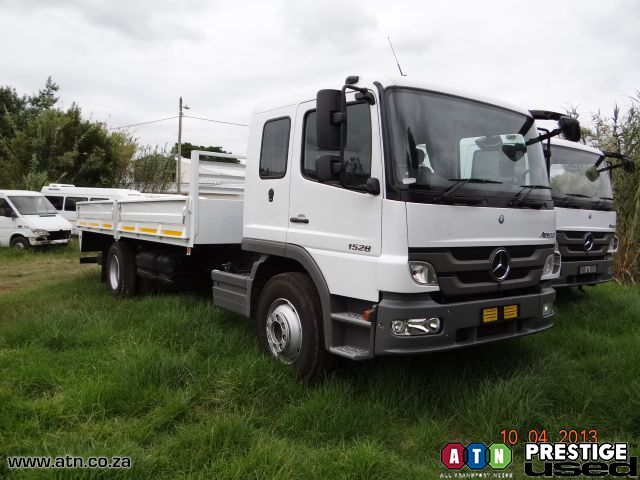 Atn prestige used used 2012 mercedes benz 1528 54 sc for 2012 mercedes benz truck
