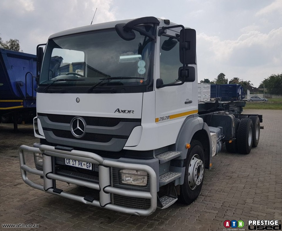 Atn prestige used used 2013 mercedes benz axor 2628 45 for Mercedes benz truck 2013