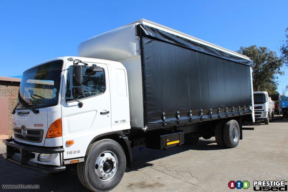 2014 HINO 500 1626 LWB Curtainsider Truck Rigid